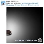 Oreo Super Bowl Blackout Tweet