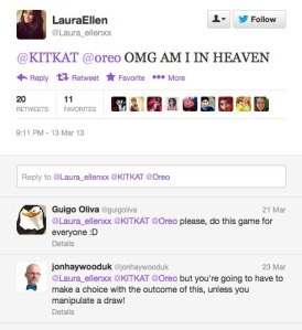 Laura replies
