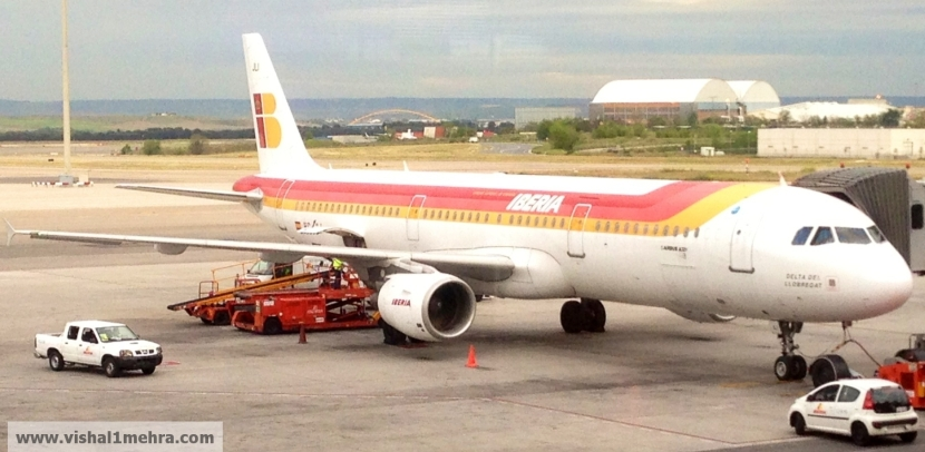 Iberia Airbus A320 -