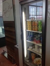 Iberia Barcelona Lounge - fridge