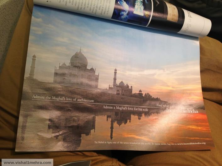 Iberia flight incredible india magazine ad