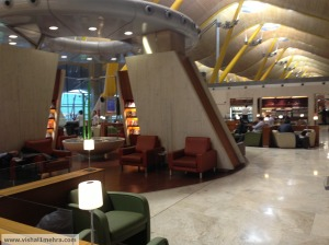 Iberia lounge madrid