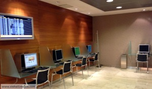 Iberia madrid business lounge - business area