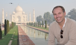 Johhny at the Taj