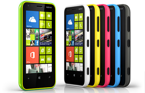 Nokia Lumia 620 (Image Courtesy: Nokia)