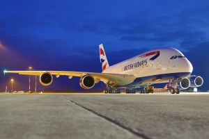 British Airways A380.                             Photo Courtesy: Airbus