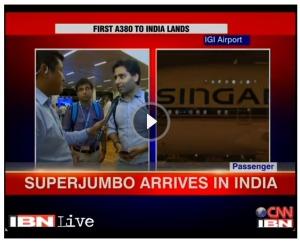 Airbus A380 Event in New Delhi T3 - Vishal Mehra