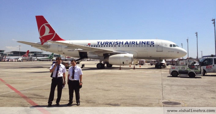 Turkish Airlines A319 at Istanbul Airport
