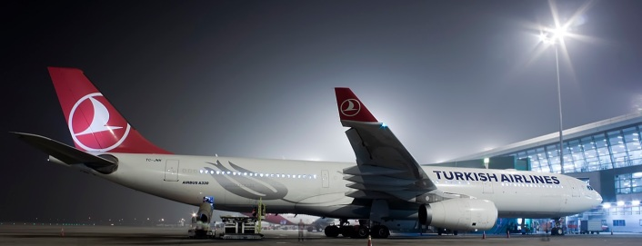 Turkish Airlines A330-300 at Delhi International Airport. Photo Credit: JetPhotos.net