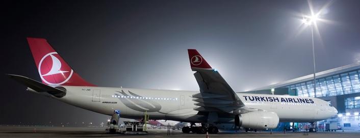 Turkish Airlines A330-300 at Delhi International Airport. Photo Credit: JetPhotos.net