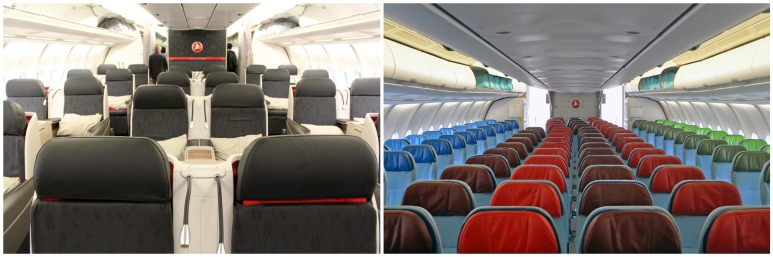 Turkish Airlines A330-300 - Business Class and Economy