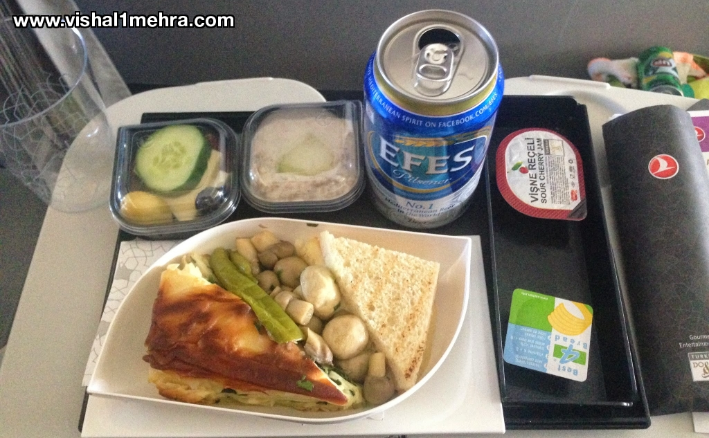 Turkish Airlines Indian Food