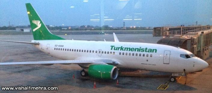 Turkmenistan Airlines Boeing 737-700
