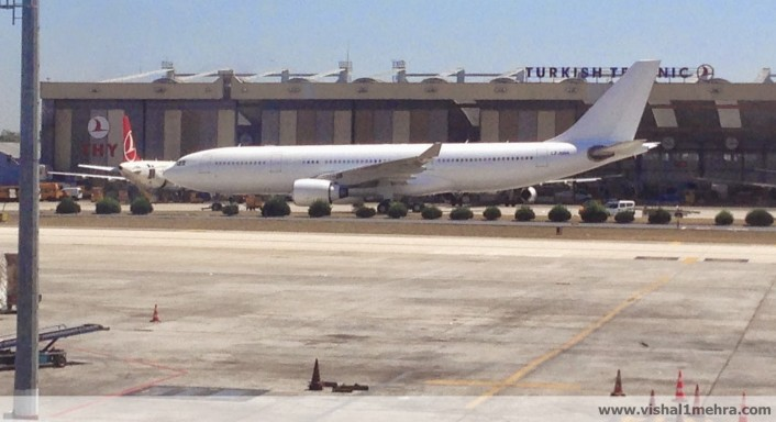 Unidentified aircraft at Ataturk Istanbul Airport