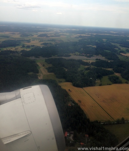 Taking off - Stockholm Arlanda
