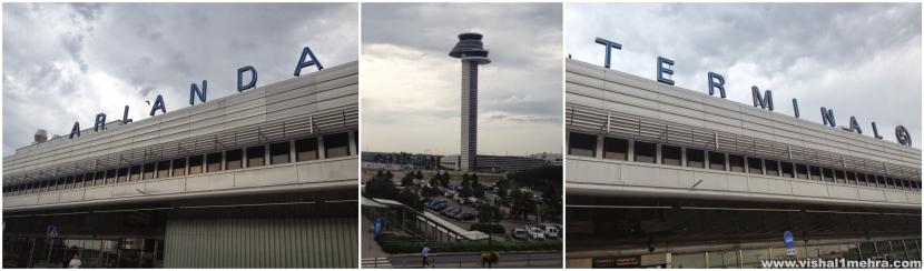 Stockholm Arlanda Airport - Exteriors and ATC