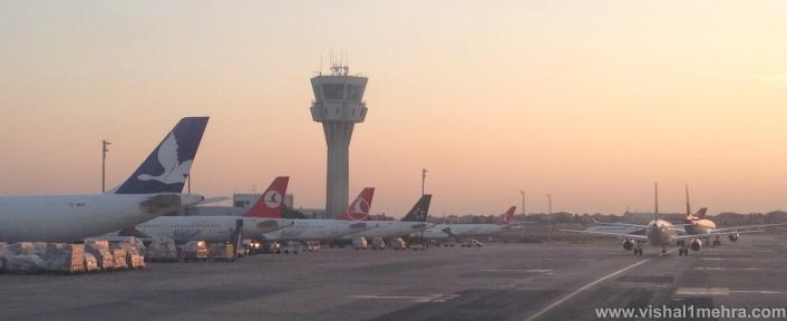Istanbul Airport Ramp