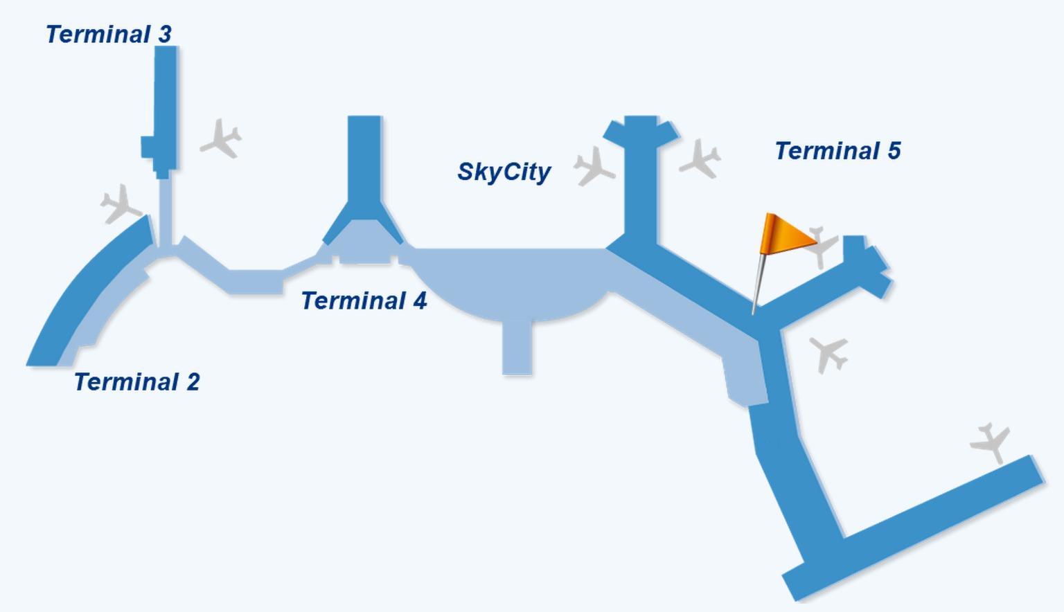 Forex arlanda terminal 5 map