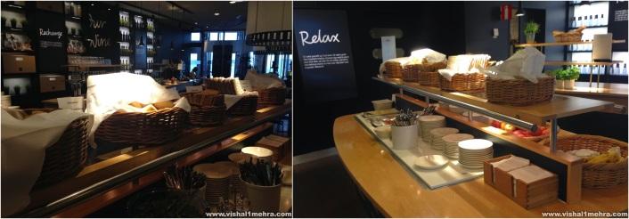 SAS Stockholm Lounge -  Breakfast Breads