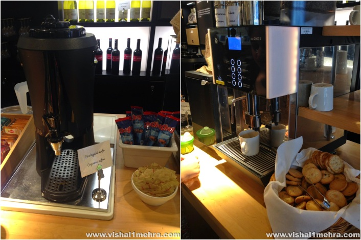 SAS Stockholm Lounge - Coffee Machines