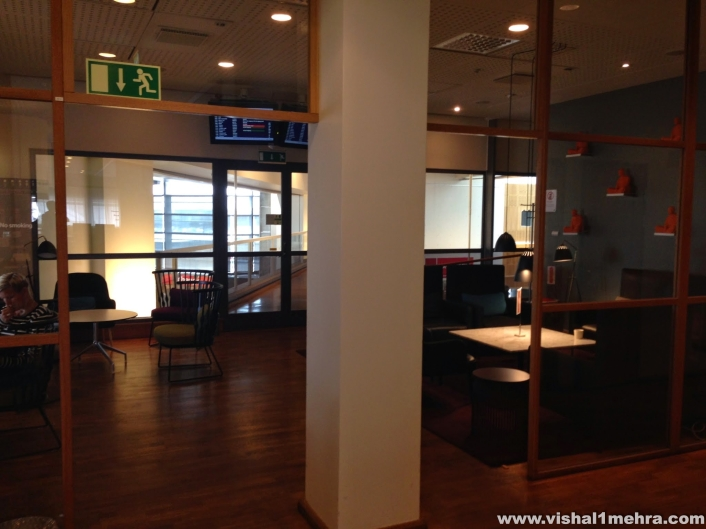 SAS Stockholm Lounge - Private Area