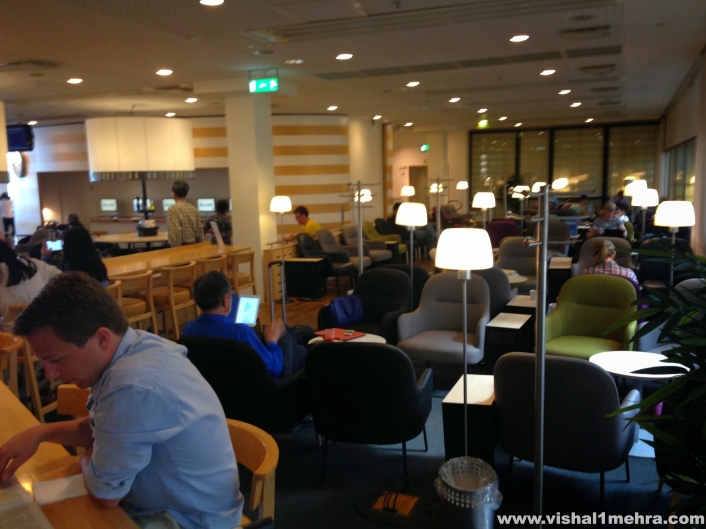 SAS Stockholm Lounge - Seating