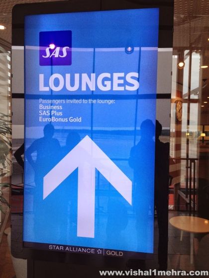 SAS Business Lounge Entrance