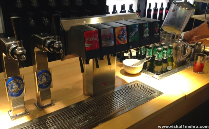 SAS Stockholm Lounge - Soft Drinks