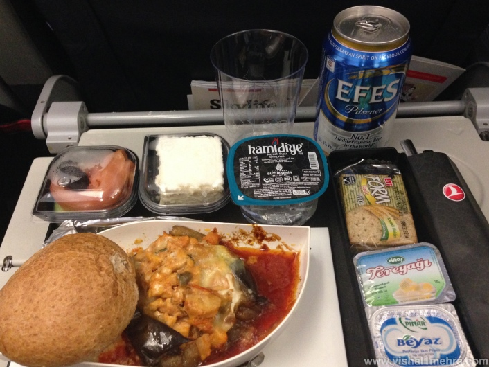 Turkish Airlines A321 - Economy Lunch Meal
