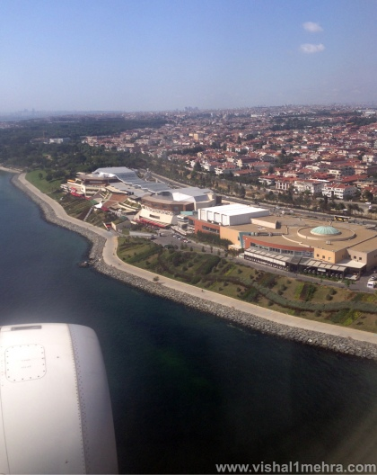 Turkish Airlines A321 - Landing at Istanbul