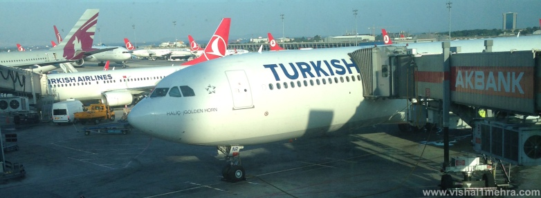 Turkish Airlines A330 - Istanbul gate