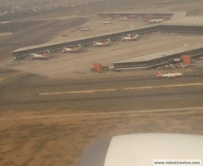 Delhi Airport T3 Aerial View