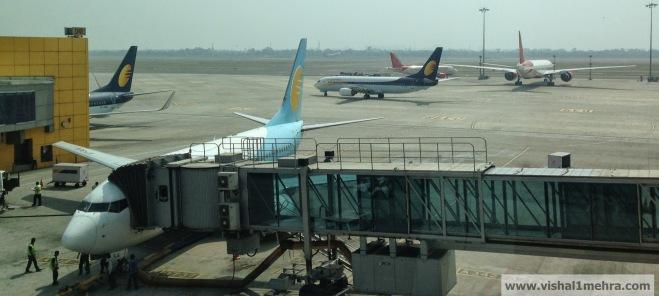Jet Airways Domestic - Delhi Airport Gate