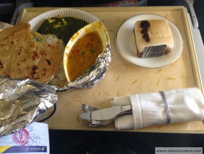 Jet Airways Domestic - Economy Paid Meal