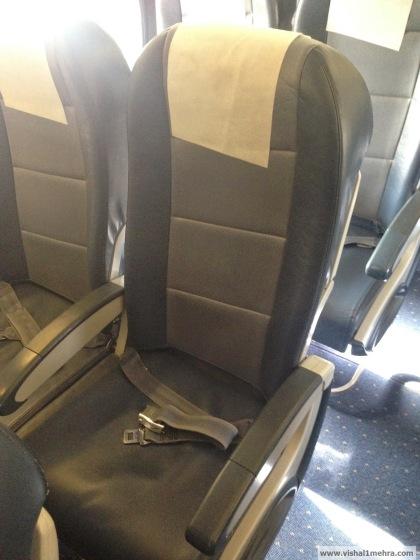 Jet Airways Domestic - Economy seat