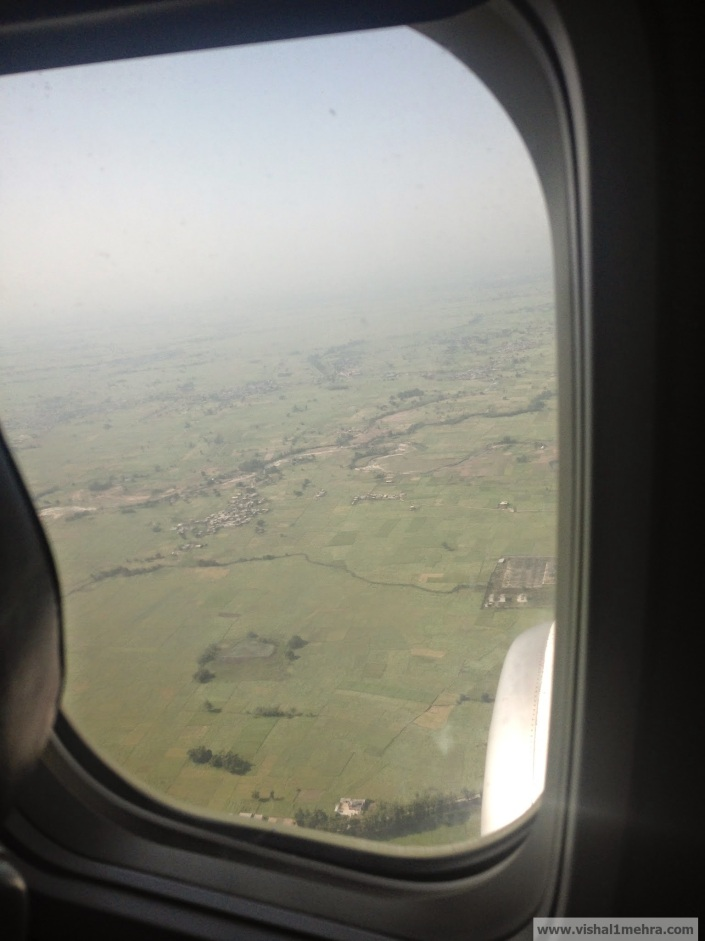 Jet Airways Domestic - Landing at Jammu