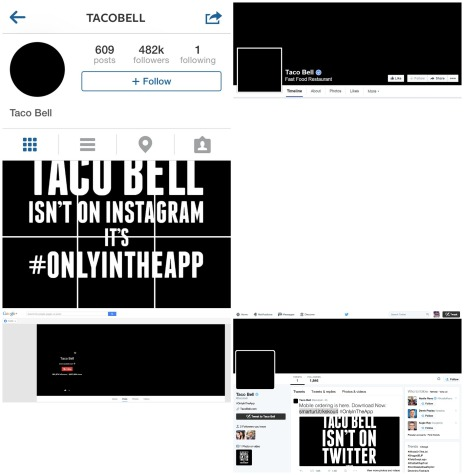 Taco Bell - Social Networks