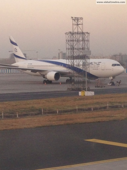 El-Al Airlines at Mumbai Airport