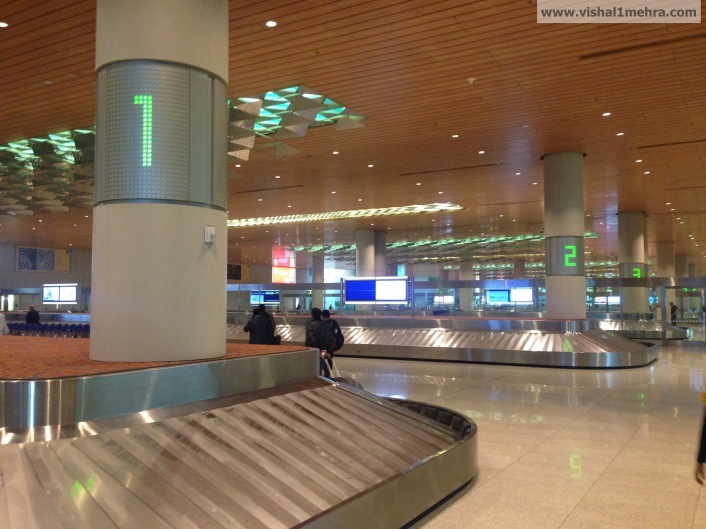 Mumbai T2 Arrival Hall - Baggage claim