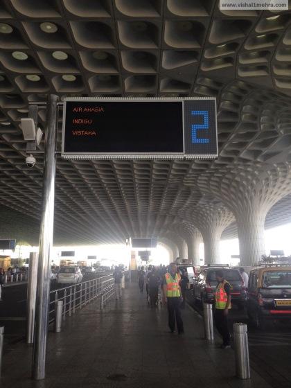 Mumbai Terminal 2, Kerbside