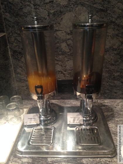 Plaza Premium Lounge Delhi -  Juices