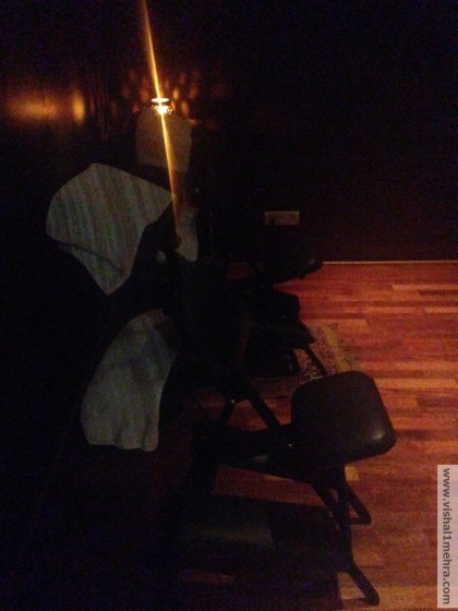 Plaza Premium Lounge Delhi -  Massage Room Chair