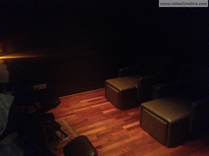 Plaza Premium Lounge Delhi -  Massage Room