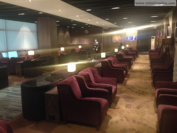 Plaza Premium Lounge Delhi -  Seating