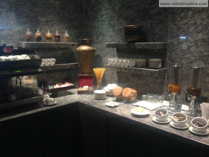 Plaza Premium Lounge Delhi -  Snacks