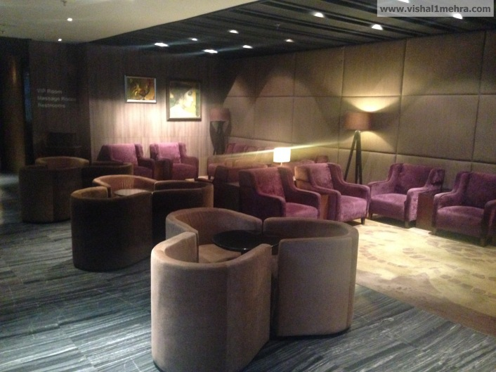 Plaza Premium Lounge Delhi -  Sofa Seating