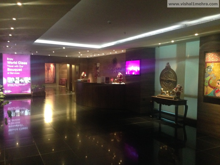 Plaza Premium Lounge Delhi T3 Entrance