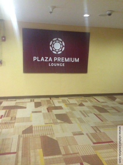 Plaza Premium Lounge - Delhi T3 Entryway