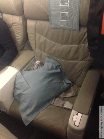 SriLankan A320 Business Class Recliner Seat