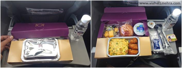 Vistara Economy Box Breakfast